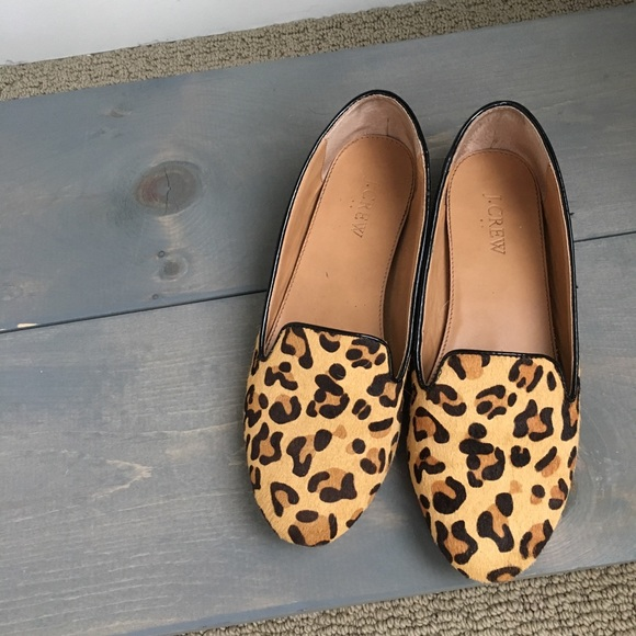 6bb423cd1ea J. Crew Factory Shoes - J Crew Factory leopard print loafers